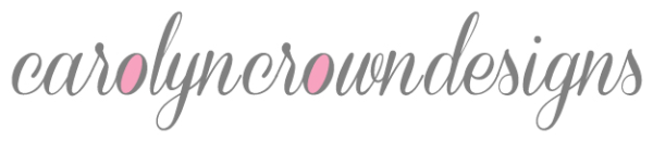 carolyncrowndesigns professional graphic design logo